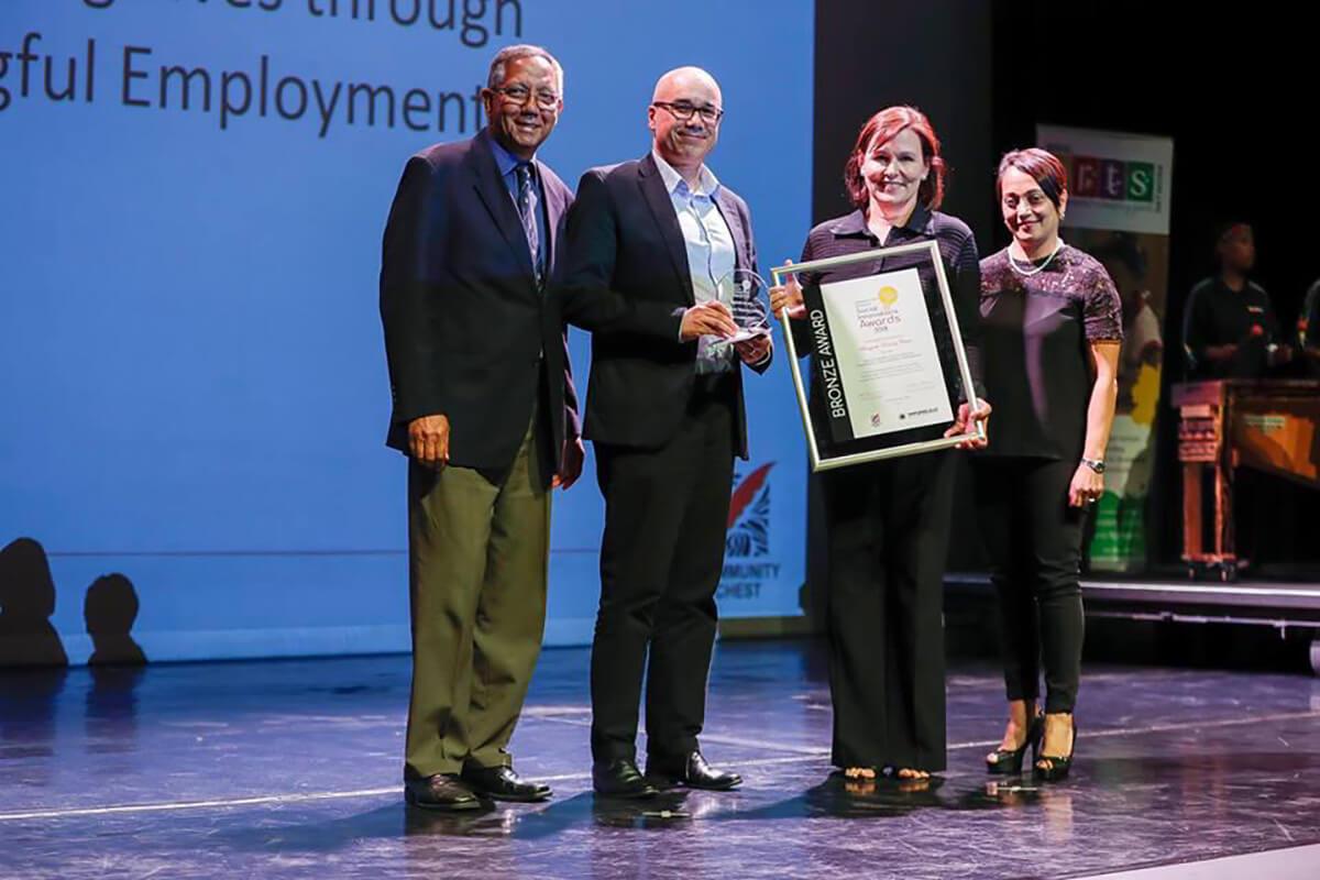 Bergzicht Training Wins Award